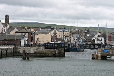 Port town in Isle of Man