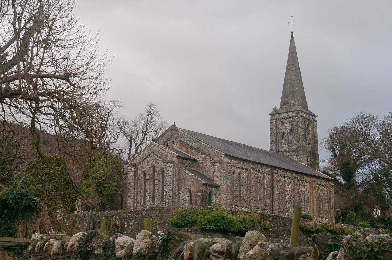 Kirk Christ Lezayre Parochial Church in Isle of Man