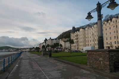 Street scene in Isle of Man
