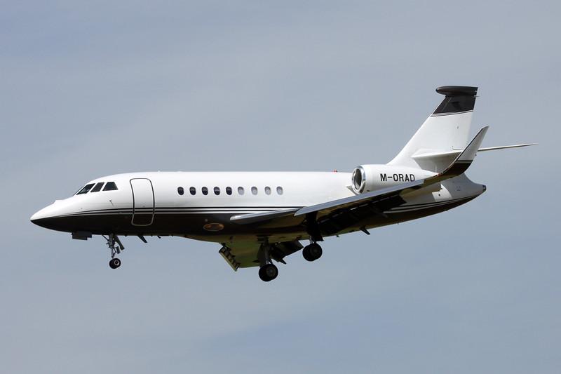 M-ORAD Dassault Falcon 2000LX c/n 101 Paris-Le Bourget/LFPB/LBG 10-07-16