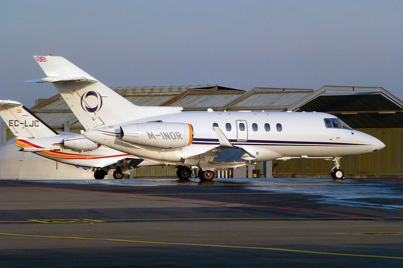 M-INOR Hawker-Siddley 125-900XP c/n HA-0059 Geneva/LSGG/GVA 18-01-12