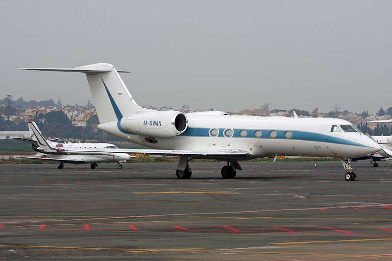M-SWAN Gulfstream G450 c/n 4181 Malaga/LEMG/AGP 29-06-16