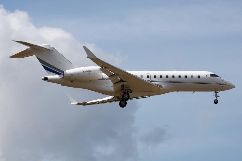 M-IUNI Bombardier Global 5000 c/n 9516 Frankfurt/EDDF/FRA 26-06-14