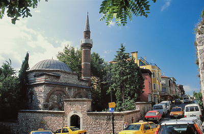 Quartier de Sultanahmet et mosquée Ishak Paşa
