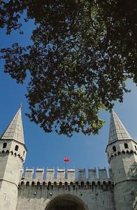 Entrée du palais de palais de Topkapı
