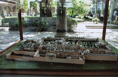 Palais de Topkapı - Maquette du palais