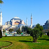 The grounds of Hagia Sophia