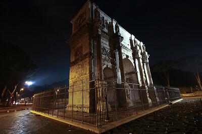 Arco di Constantino, Roma
