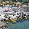 The beaches of Santa Margherita Ligure