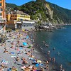 The beaches of Camogli
