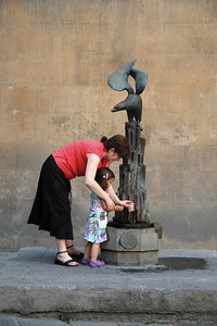 Sienese fountain