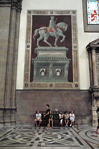 Frescoed memorial
