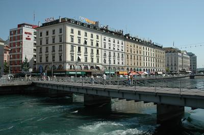 Geneva: the Rhone