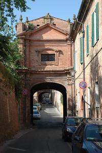 Convent entrance