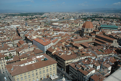 Florence from the bell tower