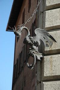 A Sienese dragon