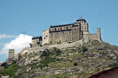 A Swiss castle