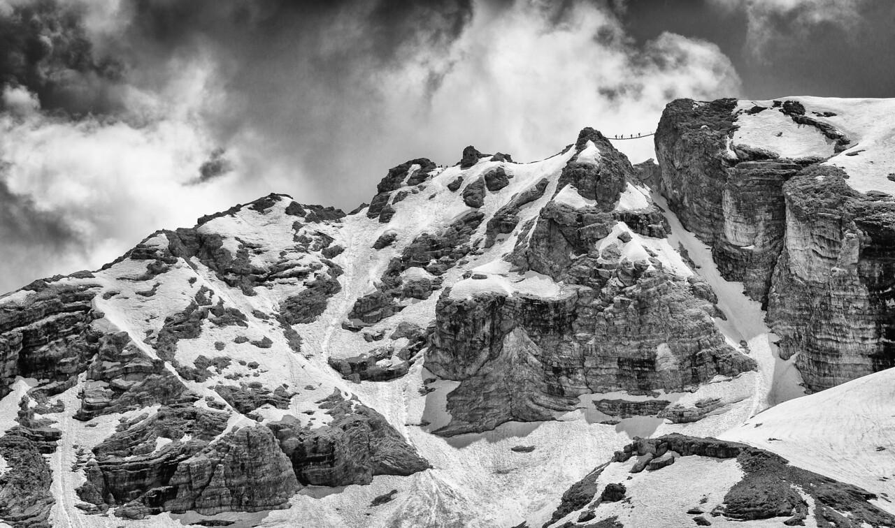 Via ferrata hiking at its best.