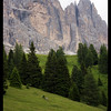 The peaks of the Dolomites instantly had me in their grasp. The towering walls, the imposing routes. It was astounding!