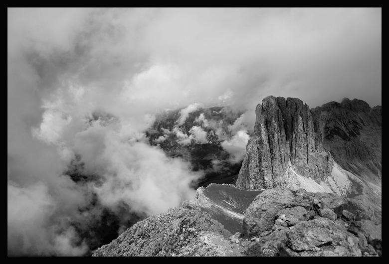 One of the openings. If I die before i come back to the Dolomites and climb with a rope and a partner I will be a very sad ghost.