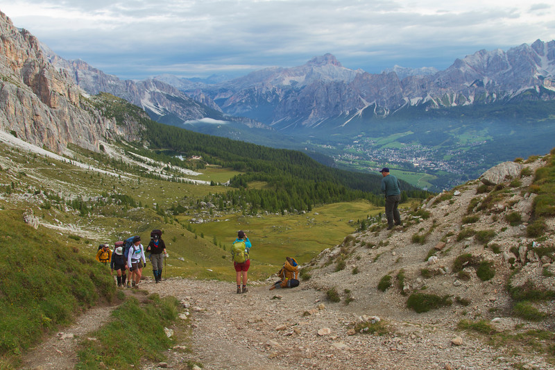Hiking in Italys Dolomites