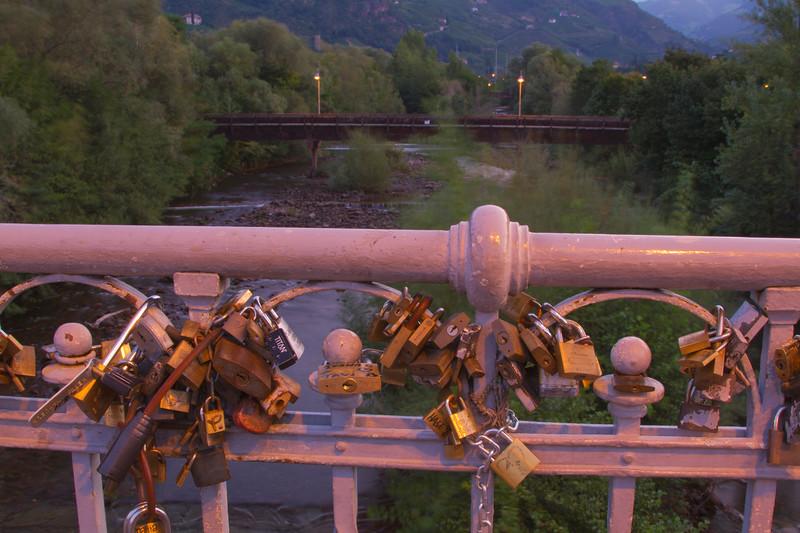 Bridge in Bolzano, Italy