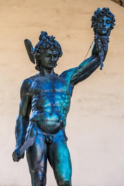 Statue at Loggia dei Lanzi