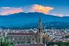 View of Basilica de Santa Croce from Piazzale Michelangelo