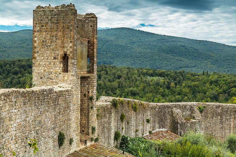 Castle of Monteriggioni