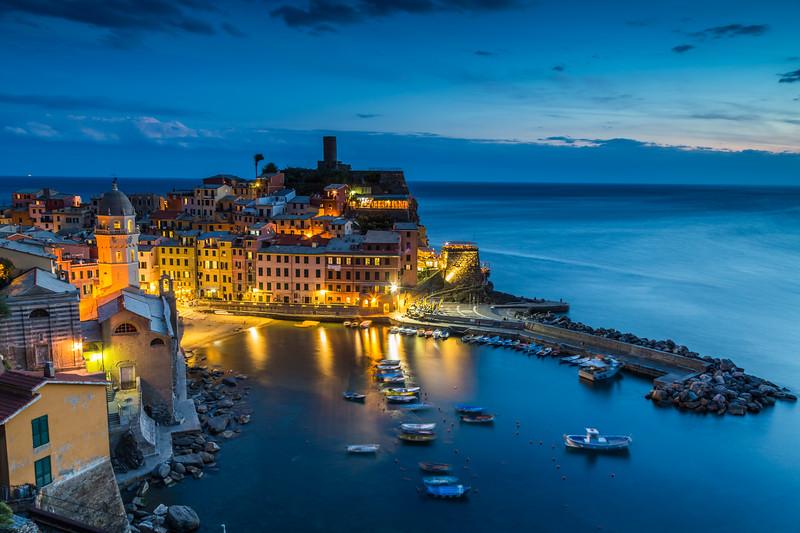 Cinque Terre Village of Vernazza