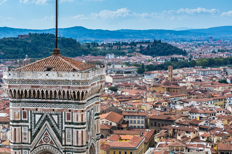 View from the Cathedral of Santa Maria del Fiore