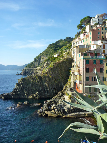Cinque Terre is a string of five villages perched on the Ligurian coast of Italy. On a fall visit, you'll avoid the summer crowds.