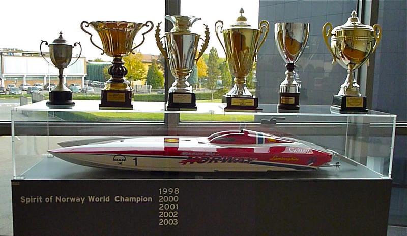 Lamborghini speed boat