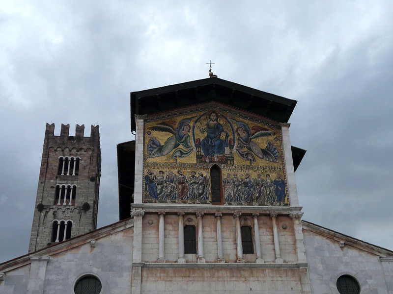 A church in Lucca, Italy