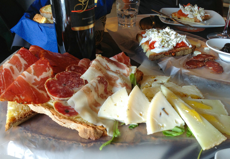 Antipasti from Lacapgaria