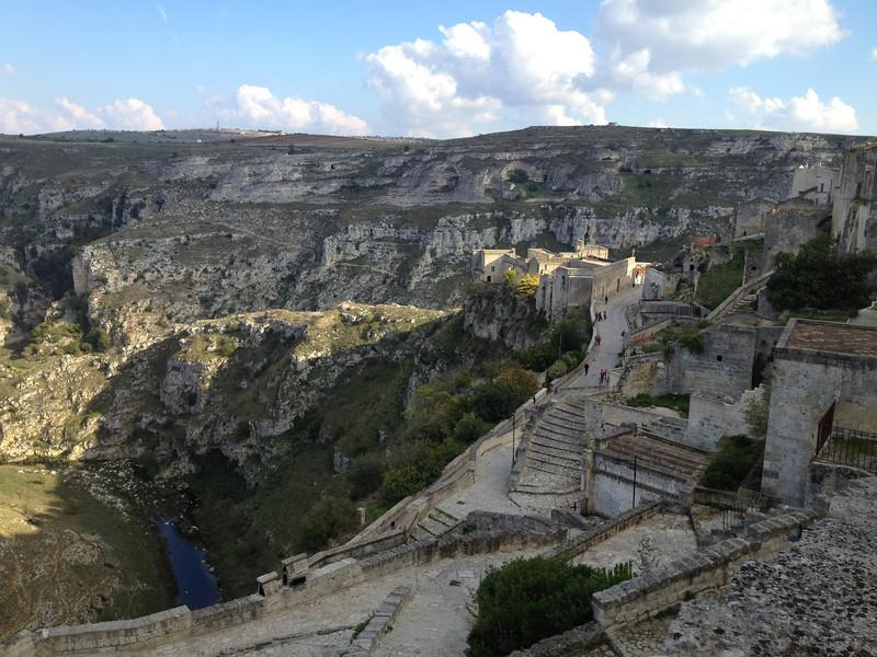 Ravines of Matera, Italy