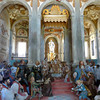 Chapel scene at Sacro Monte di Orta
