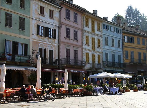 Plaza Motta in Orta San Giulio