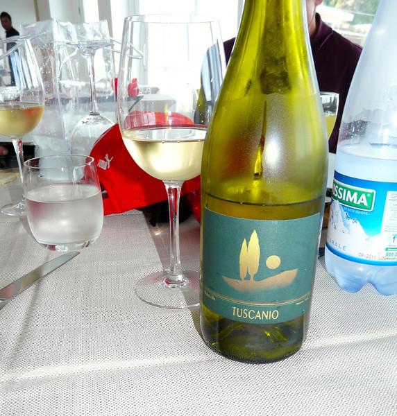 Wine at Canessa in Baratti, Italy