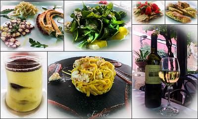 Late lunch at Ristorante Sibilla.