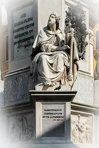 Piazza di Spagna - La Colonna della Immacolata - King David