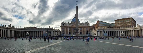 St Peter's Basilica & Square