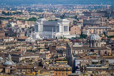 St Peter's Basilica - Victor Emmanuel II Monument