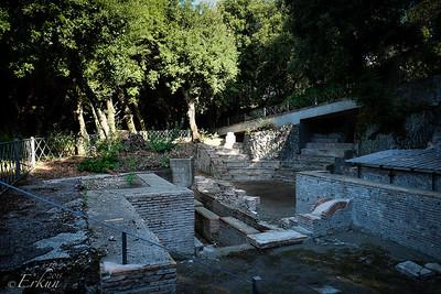 Barberini Gardens - Teatro Romano