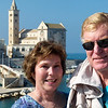Alan and Donna in Trani