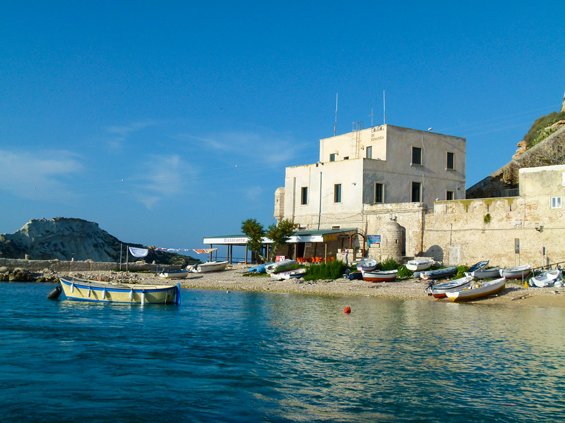 An idyllic view of San Nicola in the Tremiti Islands