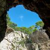 Inside Grotta del Blue Marino