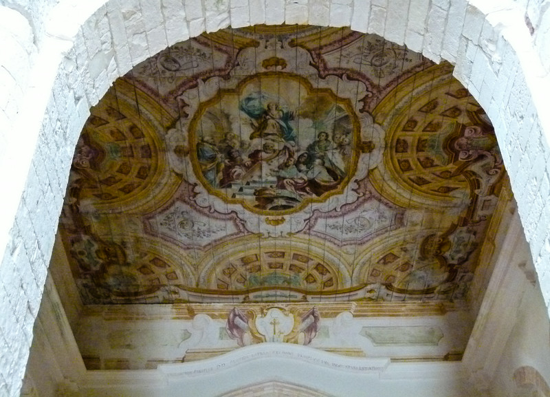 Fresco ceiling in Santa Maria a Mare