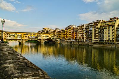 Arno River by the Pointe Vecchio