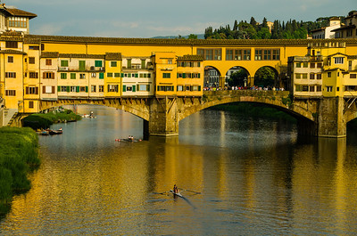 Rowing under the Pointe Vecchio